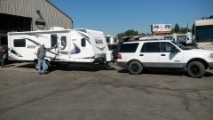 Trailer Hooked Up To My Ford Expedition