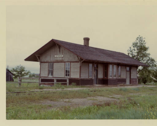 Chicago Milwaukee St. Paul U0026 Pacific Railroad Company Depot At Interior SD,  Jackson County