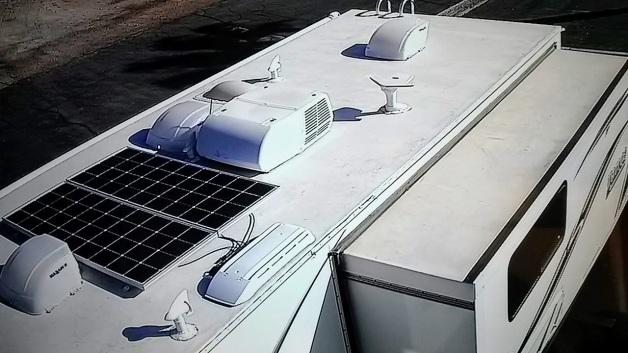 Lance Travel Trailer  U2013 Solar Panels Install  U2013 Tomord Com
