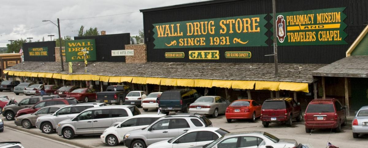 Let's Visit the Wall Drugstore!